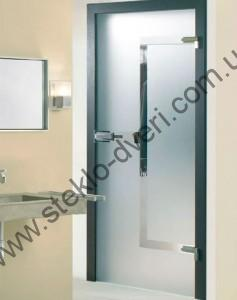 Стеклянные двери в душевую